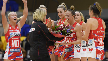 Swifts celebrate Hadley's century in style with dominant win over Thunderbirds