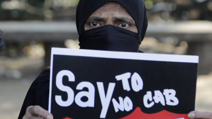 Protests erupt as India looks to block citizenship for Muslims