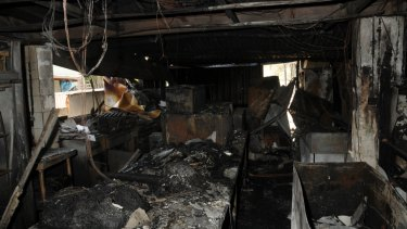 Damage to the Bullsbrook cafe was estimated to be about $500,000.