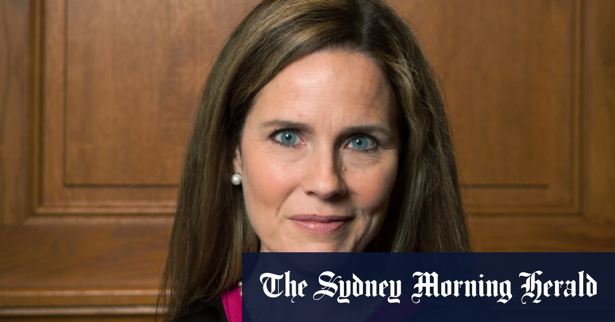 Trump expected to name Amy Coney Barrett to Supreme Court – Sydney Morning Herald