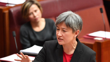 Labor's foreign affairs spokesperson Penny Wong will argue against a passive foreign policy stance among south-east Asian nations.