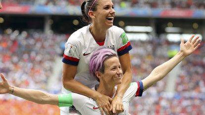 Rapinoe leads the United States to a fourth football World Cup victory