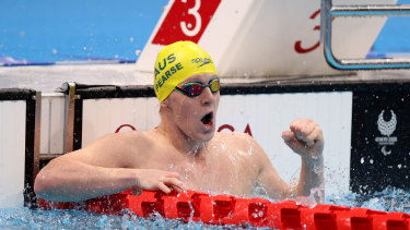 Col Pearse  has won his first  Paralympic medal.