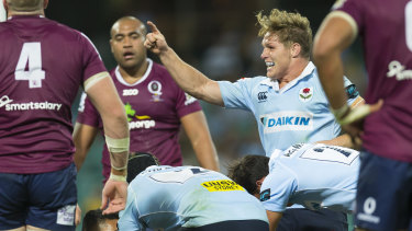 That'll rate: The strength of local derbies like Reds vs Waratahs has helped reverse the Super Rugby ratings slide.