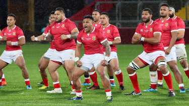 Pathways: A Tongan haka could become a feature of the NRC after the huge success of Fiji in the Australian competition.