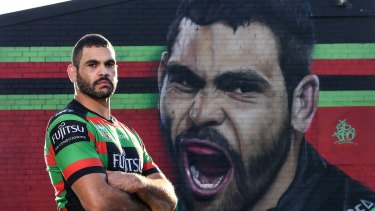 Deadly: Greg Inglis' decision to retire has been an unexpected bonus for the Bunnies.