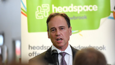 Health Minister Greg Hunt announced the Productivity Commission inquiry.