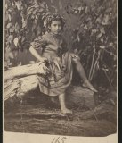 Thomas John Washbourne'sphotograph of Maggie Stone, 1870.