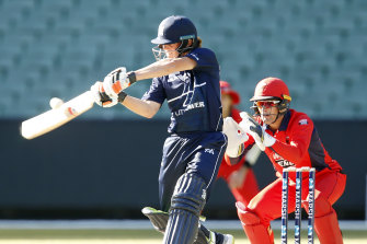 Jake Fraser-McGurk and Victoria fell agonisingly short of victory against South Australia.