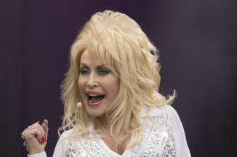 Dolly Parton: her husband of 55 years, Carl Dean, has avoided the limelight.