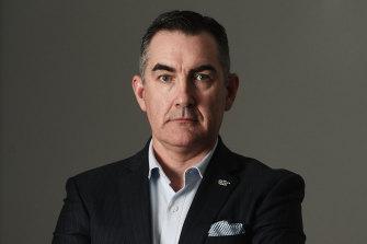 Paul Scurrah, CEO of Virgin Australia.