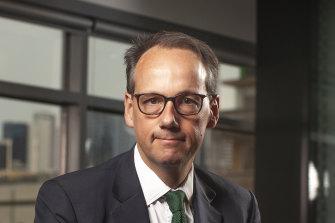 Outgoing ASIC chair James Shipton