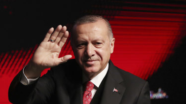 Turkey's President Recep Tayyip Erdogan has sunk to a new low.