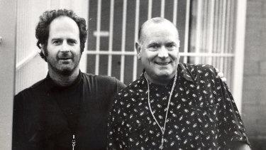 Gudisnki, left, and Chugg in 1994.