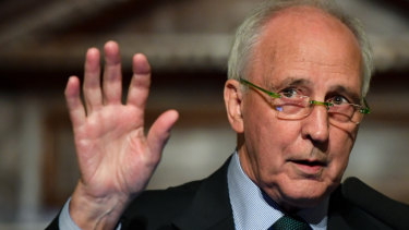 Former prime minister Paul Keating is a critic of the deal.