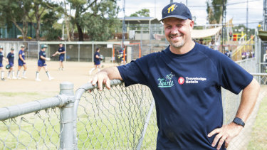Aussie Spirit coach Laing Harrow has started his team's Olympic qualification preparations at the AIS.
