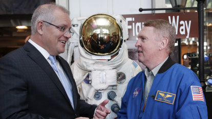 Australia aims for the moon in NASA deal for $12 billion space program