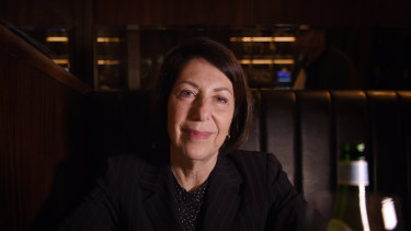 Melbourne University Publishing's former CEO Louise Adler, in May 2018.