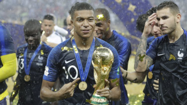 Representatives: It's no surprise World Cup winners France had plenty of nominees.