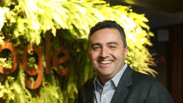 Google Australia and New Zealand managing director Jason Pellegrino starts at Domain on Monday.