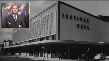 Hutchinson Builders chief executive Scott Hutchinson says work has started on plans to replace Festival Hall with a new venue in Fortitude Valley.