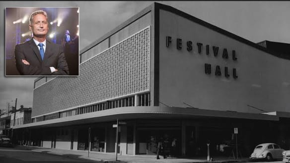 Brisbane builder begins his dream to replace Festival Hall
