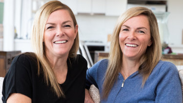 Twins Erin (left) and Jennie Noonan consider themselves soulmates.