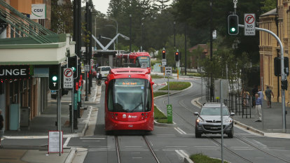 Second tram breaks down on light rail line four days after services commence