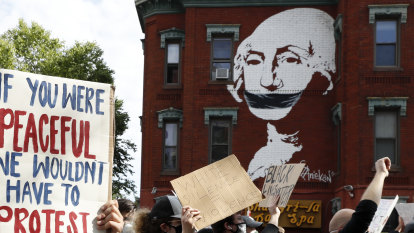 Floyd protesters face a mountain of public opinion