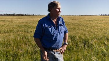 Farmer and irrigator, Malcolm Doolin