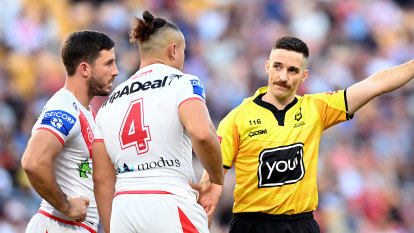 Griffin tells Dragons to suck it up after stars accept big bans