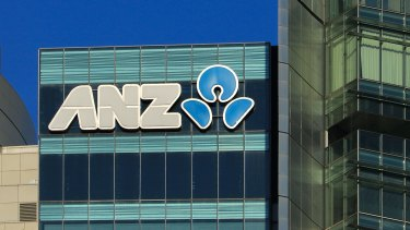 Photo of ANZ Australian and New Zealand Banking Corp building on Castlereagh Street, Sydney, 2 October 2020   Credit: Will Willitts
