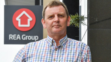 "Real Estate Home Loans owner Paul Ballinger who's business has been in a 2 year IP battle with REA Group after the real estate giant tried to register trademarks for ""realestate.com.au Home Loans."""