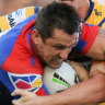 Knights snap five-game skid with Eels win