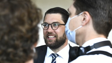 Sweden Democrats party leader Jimmie Akesson, the party has altered Sweden's politics.