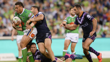 Josh Papalii says the Raiders pack can and will rise to the challenge.