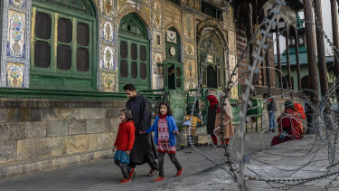 A mosque in Srinagar, India, in the state of Kashmir.. The Kashmir conflict, which once brought India and Pakistan to the brink of nuclear war, has become a bitterly personal, and mostly local, insurgency.