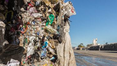 Waste at SKM's Laverton North plant.
