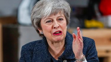 British Prime Minister Theresa May has appealed to members of Parliament to back her deal or risk seeing Brexit cancelled, as she urged the European Union to help come up with a compromise.