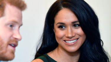 The Duchess of Sussex has talked about how it feels to be the focus of relentless UK media attention.