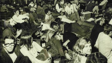 Ourimbah pop music festival, January 1970