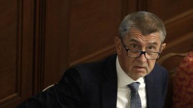 Too soon: Czech Republic's Prime Minister Andrej Babis.