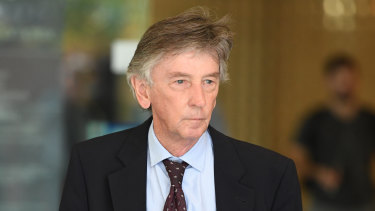 Sydney criminal lawyer Michael Croke is standing trial for perverting the course of justice.