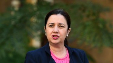 Queensland Premier Annastacia Palaszczuk said the state had recorded two new cases.