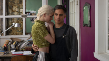 Mariana Di Girolamo and Gael Garcia Bernal in Ema.