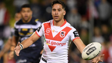 Corey Norman could go to fullback for the Dragons.