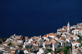 Marija grew up on the island of Vis in the Adriatic Sea.