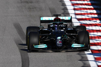 Lewis Hamilton will start from fourth.