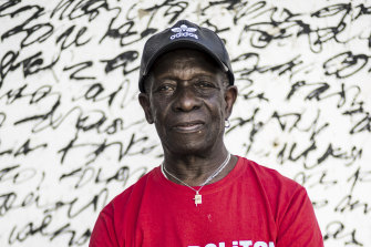 Pioneering African drummer Tony Allen, whose influential career spanned decades and continents, pictured in 2017.