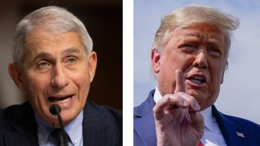 'A disaster': Trump's feud with Fauci is exactly what Republicans want to avoid